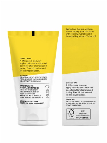 Acure Brightening Night Cream Perspective: back