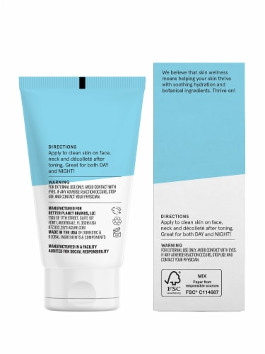 Acure Incredibly Clear Mattifying Moisturizer Perspective: back