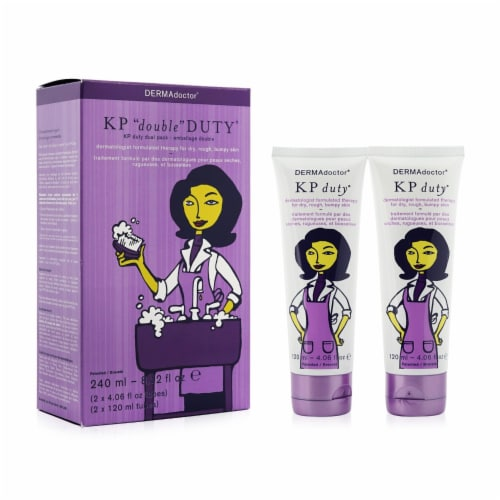 KP Double Duty Dermatologist AHA Moisturizing Therapy Perspective: back