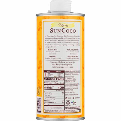 La Tourangelle Organic Sun Coco Oil Perspective: back