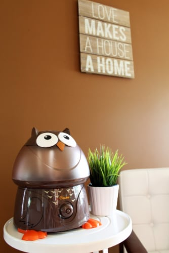 Crane Owl Cool Mist Humidifier Perspective: back