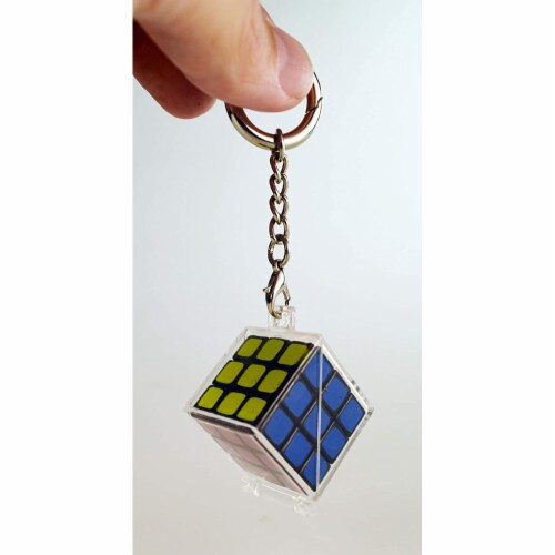 World's Coolest Rubik's Keychain Perspective: back
