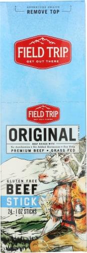 Field Trip Original Beef Sticks Perspective: back