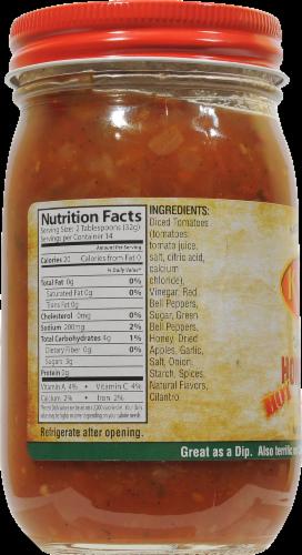 Kyvan Hot Honey Apple Salsa Perspective: back