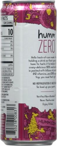 Humm Kombucha Zero Raspberry Lemonade Perspective: back