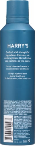Harry's Men's Foaming Shave Gel with Aloe Perspective: back