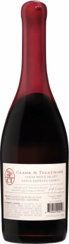 Belle Glos Pinot Noir Red Wine Perspective: back