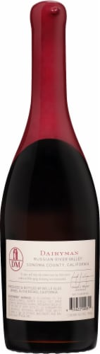 Belle Glos Dairyman Pinot Noir Red Wine Perspective: back