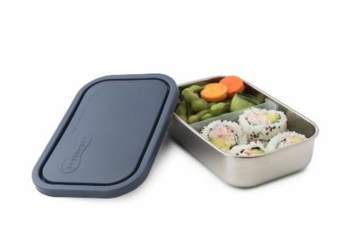 U-Konserve Divided Rectangle Stainless Steel Container - Ocean Perspective: back