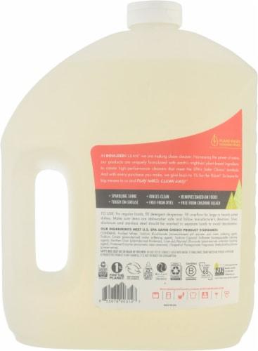 Boulder Clean Seroiusly Sparkling Natural Dishwasher Detergent Gel Perspective: back