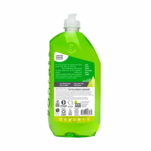 Boulder Clean Dish Soap Green Apple Perspective: back