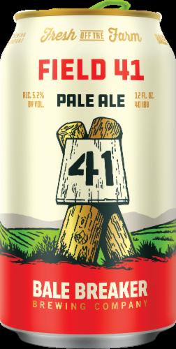 Bale Breaker Brewing Co. Field 41 Pale Ale Beer Perspective: back