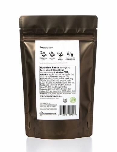 Pi Chai Chocolate Chai Tea Latte Mix With Cococa Perspective: back