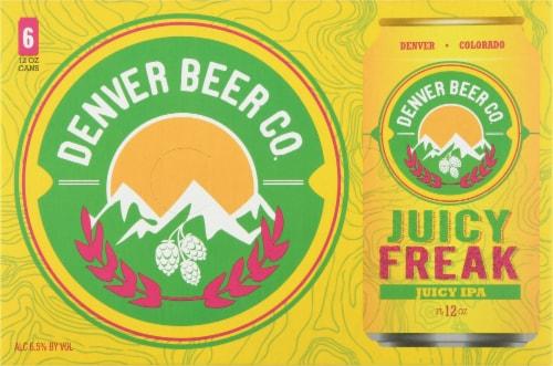 Denver Beer Co. Juicy Freak IPA Perspective: back