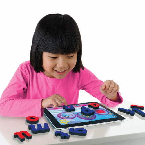 Junior Learning Touchtronic Letters Classroom Kit Perspective: back