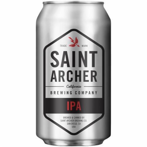 Saint Archer IPA Beer Perspective: back