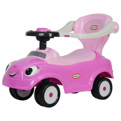 Best Ride On Cars Baby 3 in 1 Little Tikes Push Car Stroller Ride On Toy, Pink Perspective: back