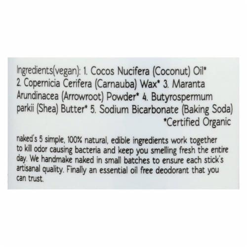 North Coast Organics Deodorant - Naked Sensitive Skin -  - 2.5 oz. - Pack of 3 Perspective: back