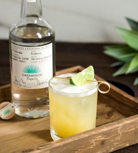 Casamigos Tequila Blanco Perspective: back