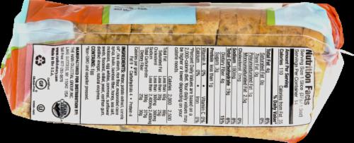 Rudi's Gluten Free Multigrain Sandwich Bread Perspective: back