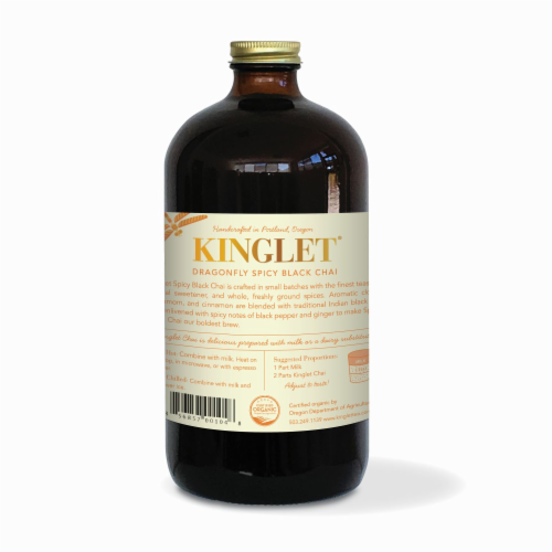Kinglet Dragpmfly Spicy Black Chai Tea Perspective: back