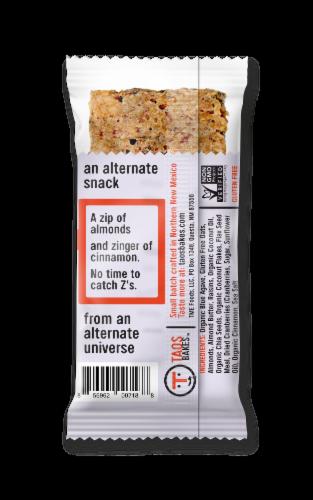 Taos Bakes Almond Agave & Cinnamon Bar Perspective: back