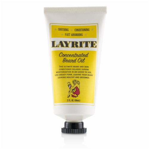 Layrite Concentrated Beard Oil 59ml/2oz Perspective: back