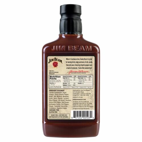 Jim Beam Smoky Barrel BBQ Sauce Perspective: back