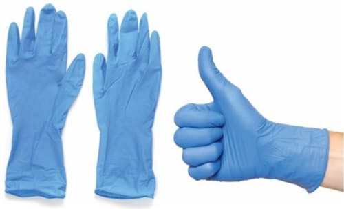 Viloe Extra Large Nitrile Disposable Gloves Perspective: back
