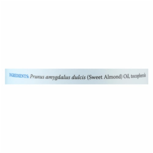 Earth's Care 100% Pure Sweet Almond Oil - 8 fl oz - Pack of 3 Perspective: back