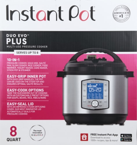 Instant Pot® Duo Evo Plus Pressure Cooker Perspective: back