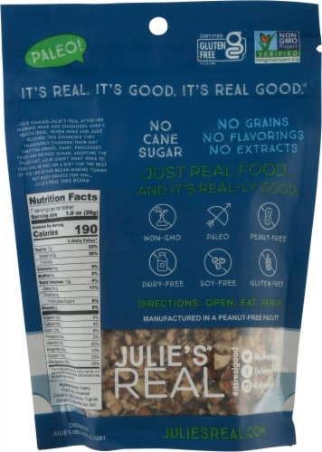 Julie's® Real Cacao Coconut Grain Free Granola Perspective: back