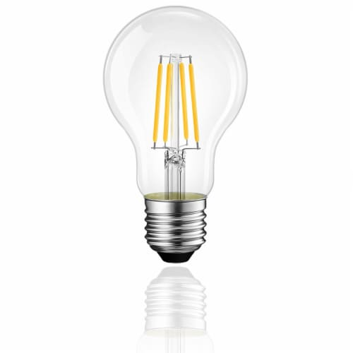Vintage Style 60W Equivalent Warm White A19 LED Light Bulb Perspective: back
