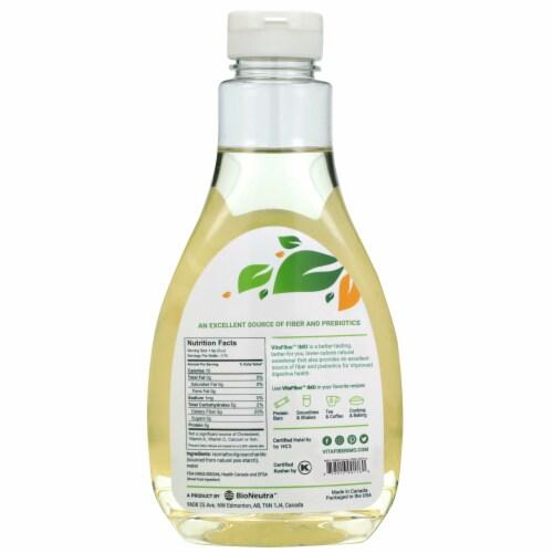 VitaFiber Vegan Syrup Sweetener Perspective: back