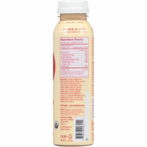 REBBL Vanilla Spice Protein Super Herb Elixir Perspective: back