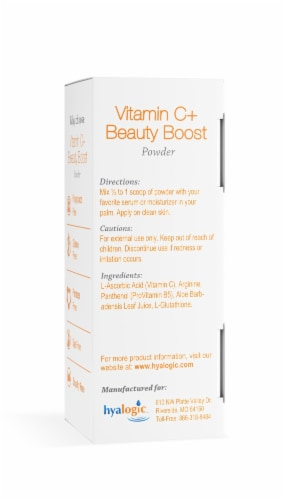Vitamin C Beauty Boost Mix In Powder Perspective: back