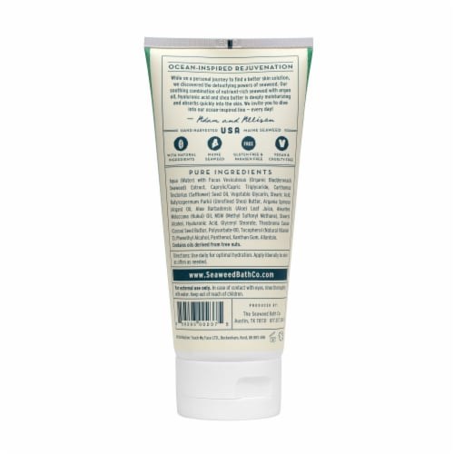 The Seaweed Bath Co. Unscented Hydrating Soothing Body Cream Perspective: back