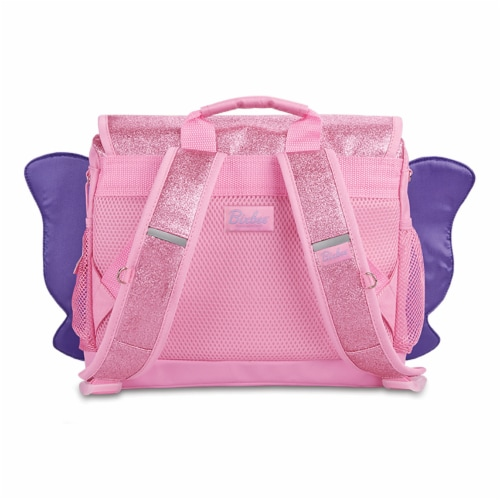 Bixbee Small Sparkalicious Butterflyer Backpack - Pink Perspective: back