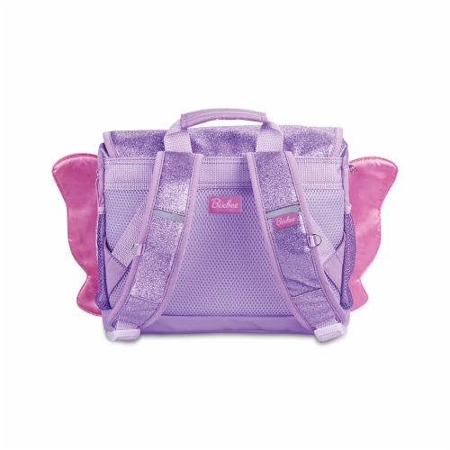 Bixbee Small Sparkalicious Butterflyer Backpack - Purple Perspective: back