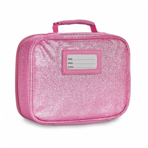 Bixbee Sparkalicious Lunchbox - Pink Perspective: back