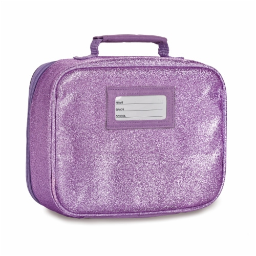 Bixbee Sparkalicious Lunchbox - Purple Perspective: back