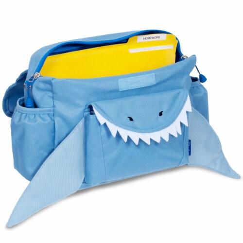 Bixbee Animal Pack Small Shark Backpack Perspective: back