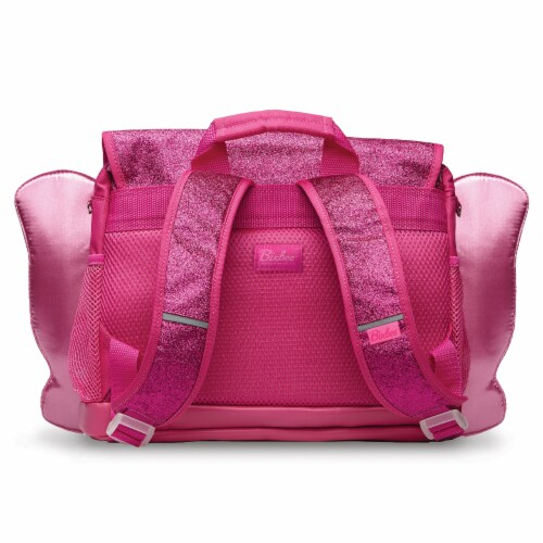 Bixbee Small Sparkalicious Butterflyer Backpack - Ruby Perspective: back