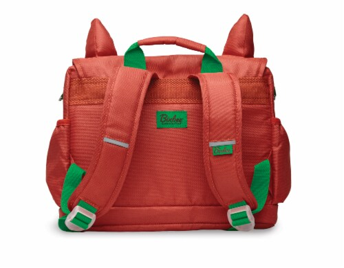 Bixbee Animal Pack Small Fox Backpack Perspective: back