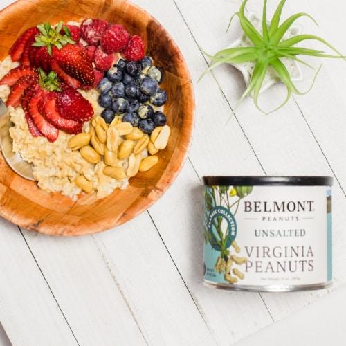 Belmont Peanuts Unsalted Virginia Peanuts, 38Oz Perspective: back
