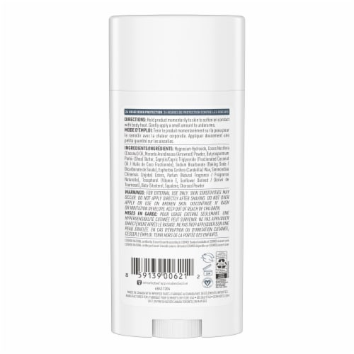 Schmidt's Mineral Enriched Charcoal + Magnesium Aluminum Free Natural Deodorant Perspective: back
