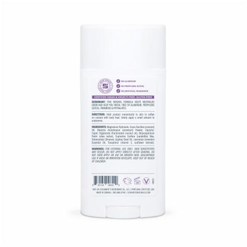 Schmidt's Sensitive Skin Formula Lavender Natrual Deodorant Stick Perspective: back
