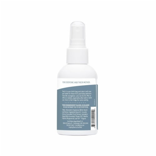 Earth Mama Herbal Perineal Spray Perspective: back