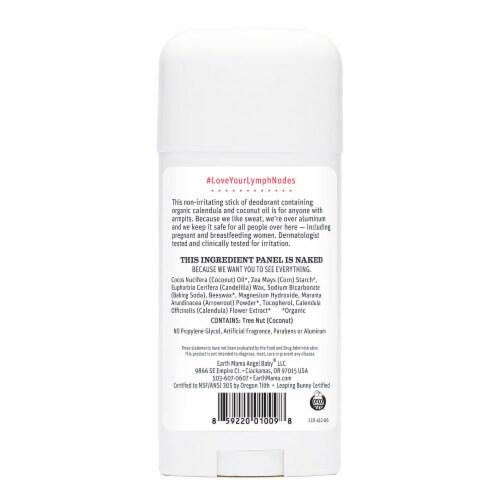 Earth Mama Natural Non-Scented Deodorant Perspective: back