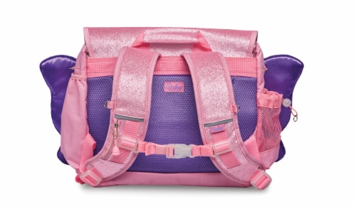 Bixbee Medium Sparkalicious Butterflyer Backpack - Pink Perspective: back